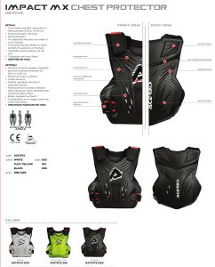 Impact MX Chest Protector