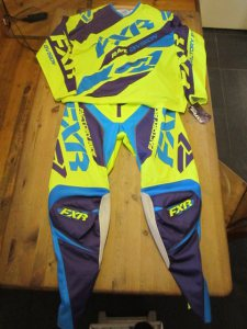 fxr crosskleding neo/purple/yellow